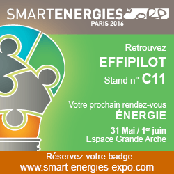 effiPilot au salon Smart Energies 2016