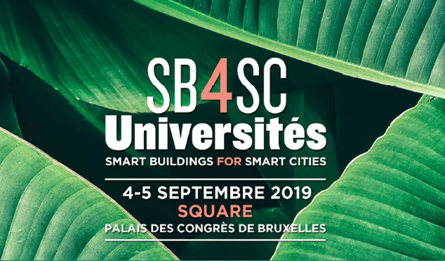 Smart Building for Smart Cities - Universités d'Été 2019
