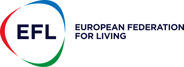 Logo European Federation for Living